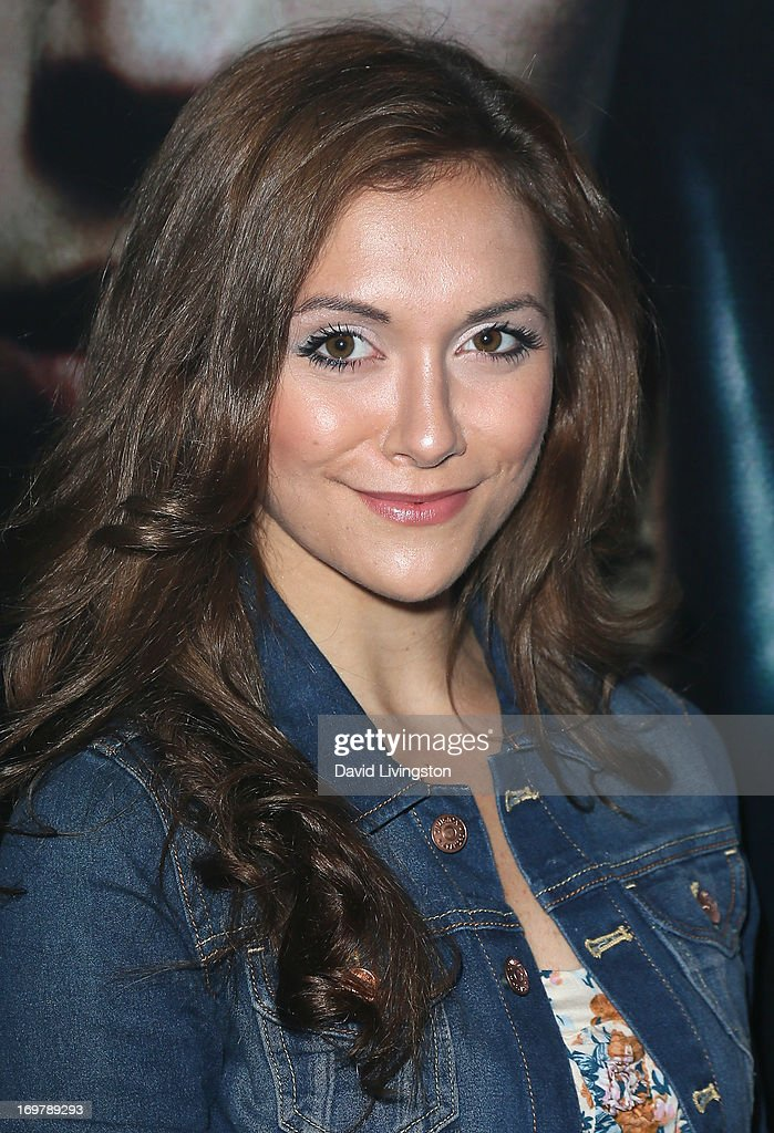 Actress Alyson Stoner attends the kickoff for Max Schneider's 'Nothing Without Love' summer tour at the Roxy Theatre on June 1, 2013 in West Hollywood, California.