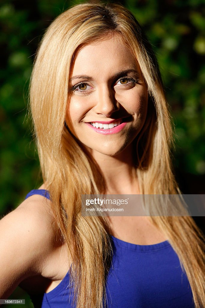 Actress Alyson Stoner attends the Sassi By Nancy E & GG Spring 2013 Swimsuit Collection fashion show as part of Los Angeles Fashion Week at Stage 22 on March 13, 2013 in Los Angeles, California.