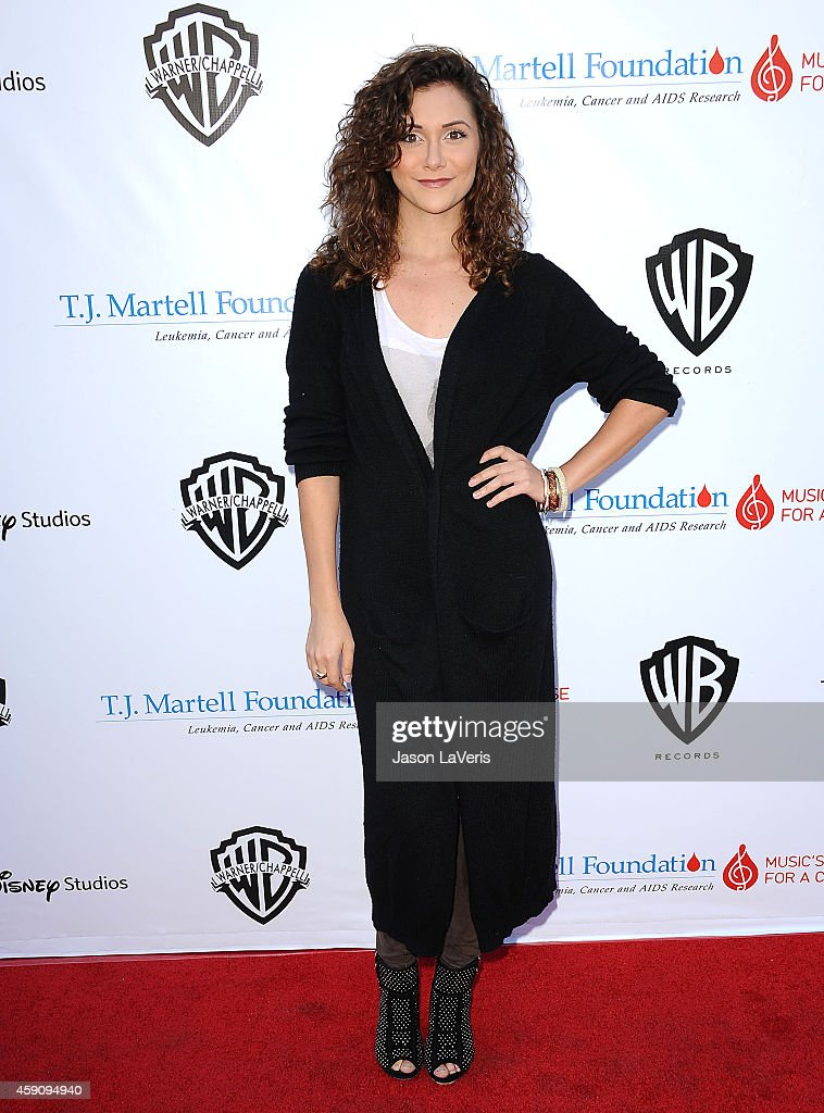 Actress Alyson Stoner attends the TJ Martell Foundation family day at CBS Studios on November 16 2014 in Studio City California