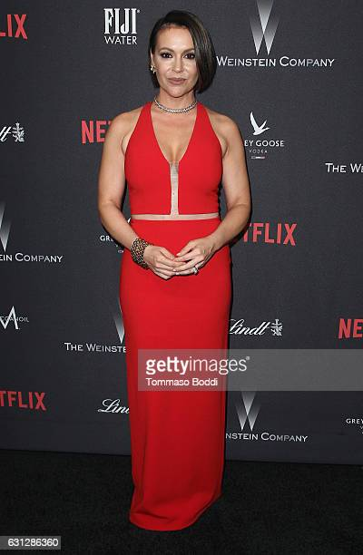 Actress Alyssa Milano attends The Weinstein Company and Netflix Golden Globe Party presented with FIJI Water Grey Goose Vodka Lindt Chocolate and...