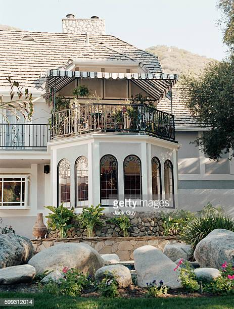 Actress Alyssa Milano's home is photographed for InStyle Magazine in 2004 in California