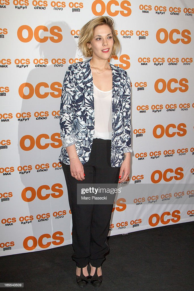 Actress Alysson Paradis attends the 'QI' Premiere at Forum Des Images on April 4, 2013 in Paris, France.