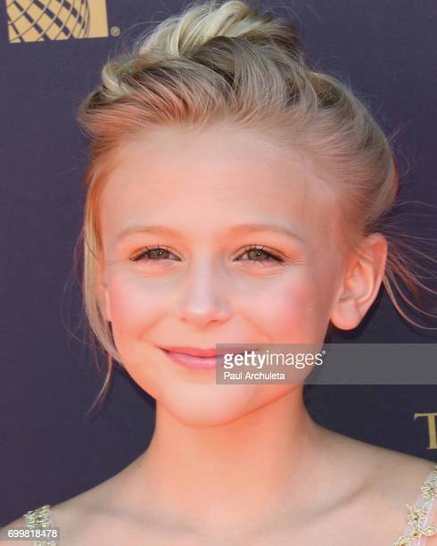 Actress Alyvia Alyn Lind attends the 44th annual Daytime Emmy Awards at The Pasadena Civic Auditorium on April 30 2017 in Pasadena California