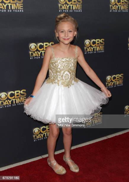Actress Alyvia Alyn Lind attends the CBS Daytime Emmy after party at Pasadena Civic Auditorium on April 30 2017 in Pasadena California