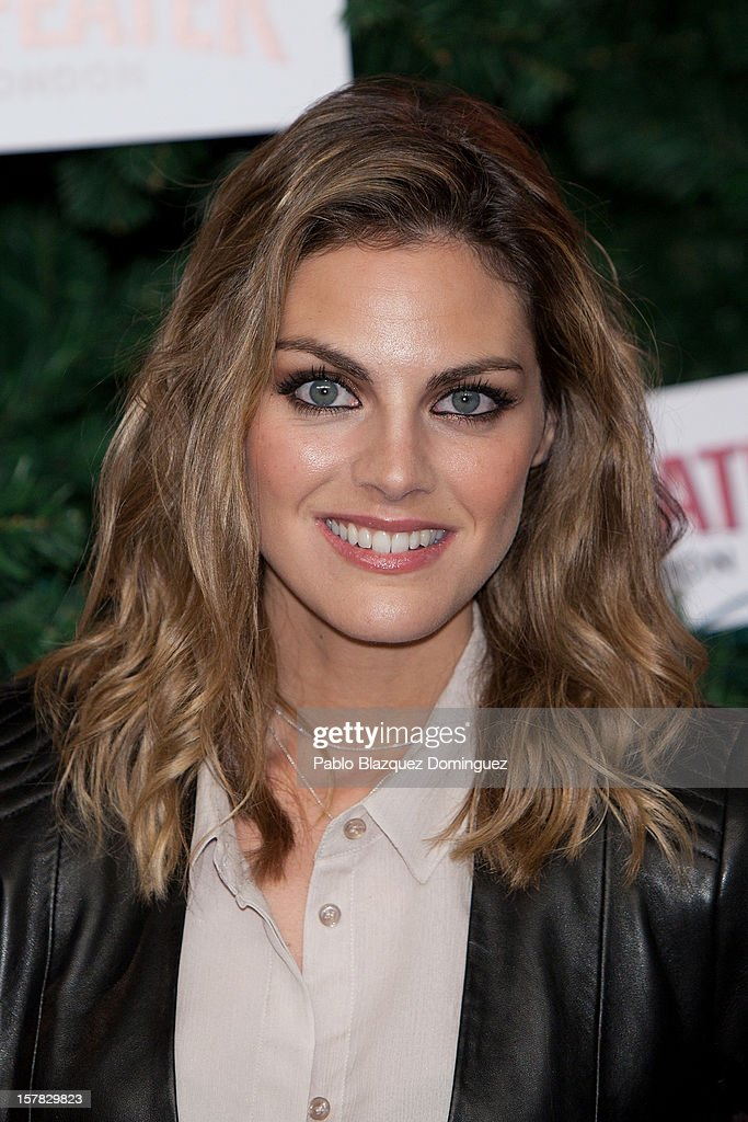 Actress Amaia Salamanca attends Beefeater London Market at Cibeles Palace on December 6, 2012 in Madrid, Spain.