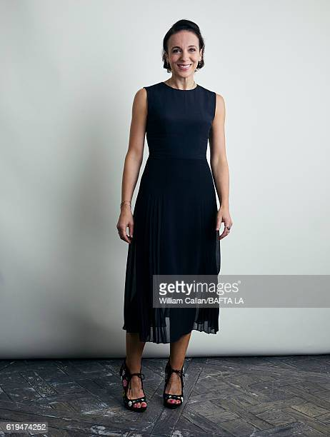 Actress Amanda Abbington poses for a portrait BBC America BAFTA Los Angeles TV Tea Party 2016 at the The London Hotel on September 17 2016 in West...