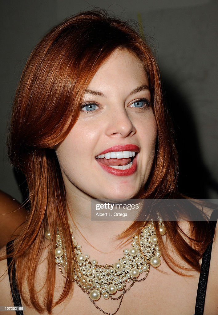 Actress Amanda Alch attends the Birthday Party for Model/actress Chanel Ryan also celebrating the release of 'Bad Kids Go To Hell' held at Eden on November 30, 2012 in Hollywood, California.