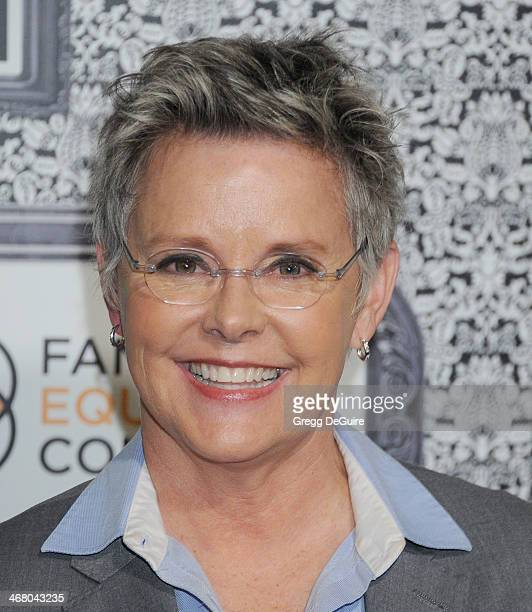Actress Amanda Bearse arrives at the Family Equality Council's Annual Los Angeles Awards Dinner at The Globe Theatre on February 8 2014 in Universal...
