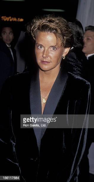 Actress Amanda Bearse attending GLAAD Media Awards on March 19 1994 at the Century Plaza Hotel in Century City California