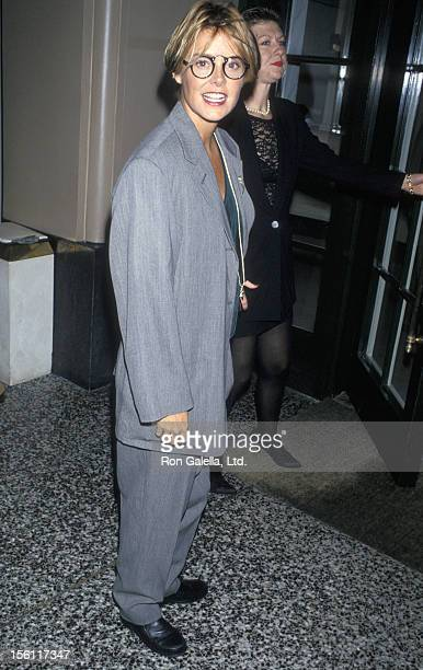 Actress Amanda Bearse attending 'Hollywood Comes Out Gala Honoring Senator Paul D Wellstone' on October 2 1994 at the Beverly Wilshire Hotel in...