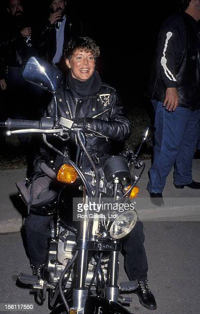 Actress Amanda Bearse attending 'IFP Rebel With A Cause Benefit' on January 13 1992 at MGM Studios in Studio City California