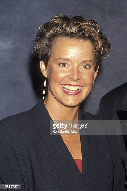 Actress Amanda Bearse attending 'International Broadcasting Awards' on March 18 1992 at the Beverly Hilton Hotel in Beverly Hills California