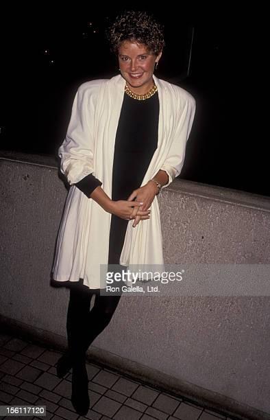 Actress Amanda Bearse attending Pacific Design Center Gala on November 16 1991 at the Westin Bonaventure Hotel in Los Angeles California