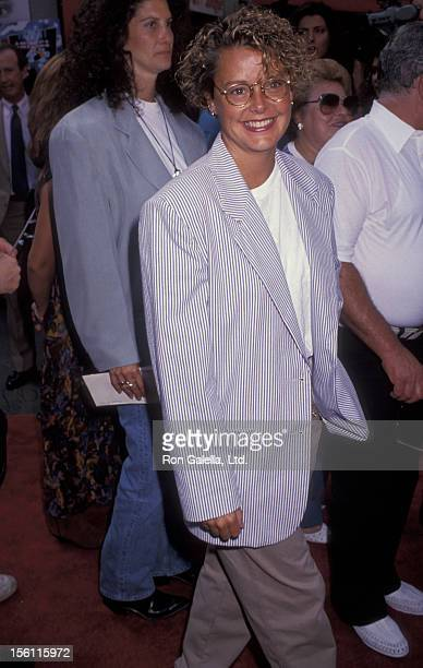 Actress Amanda Bearse attending the premiere of 'Little Man Tate' on October 6 1991 at Mann Chinese Theater in Hollywood California