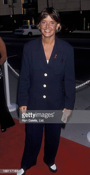 Actress Amanda Bearse attending the screening of 'And The Band Played On' on August 31 1993 at the Academy Theater in Beverly Hills California