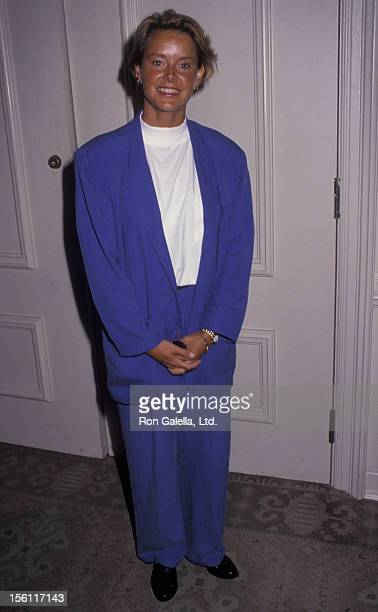 Actress Amanda Bearse attending 'Women In Film Crystal Awards' on June 12 1992 at the Beverly Hilton Hotel in Beverly Hills California