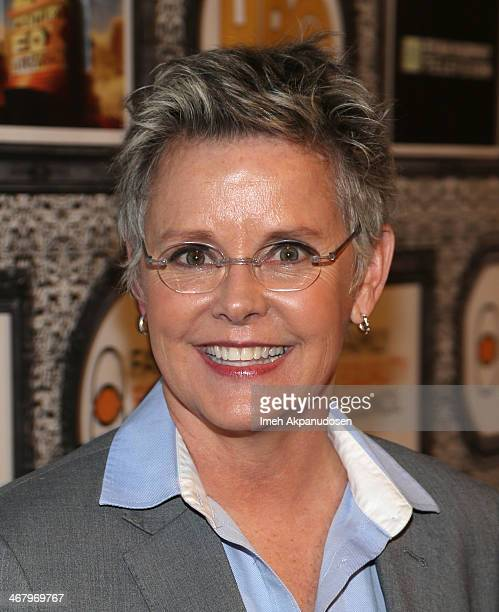 Actress Amanda Bearse attends Family Equality Council's annual Los Angeles awards dinner at The Globe Theatre on February 8 2014 in Universal City...