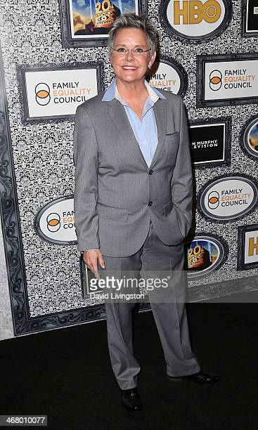 Actress Amanda Bearse attends the Family Equality Council's Annual Los Angeles Awards Dinner at The Globe Theatre on February 8 2014 in Universal...