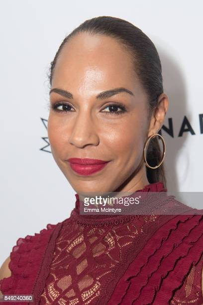 Actress Amanda Brugel attends the Canadian consulate's celebration for the Canadian Emmy Nominees at the Official Residence Of Canada on September 18...