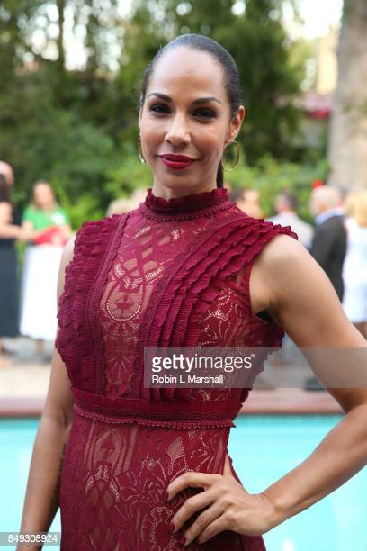 Actress Amanda Brugel The Handmaid's Tale attends the Canadian Consulate's Celebration for the Canadian Nominees of the 69th Emmy Awards at Official...