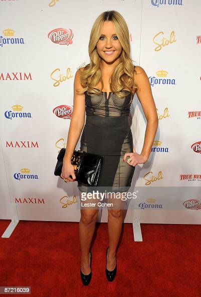 Actress Amanda Bynes arrives at Maxim's 10th Annual Hot 100 Celebration Presented by Dr Pepper Cherry True Religion Brand Jeans Stolichnaya Vodka and...