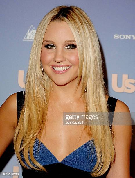 Actress Amanda Bynes arrives at the 'Us Weekly's Hot Hollywood 2007 Arrivals' at Opera on September 26 2007 in Hollywood California