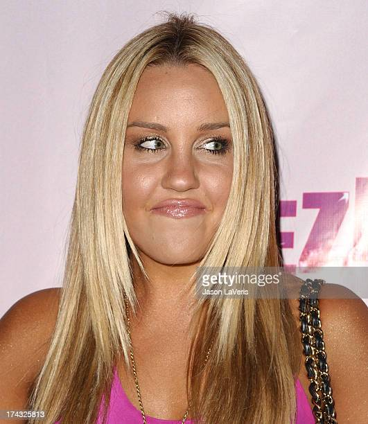 Actress Amanda Bynes attends Perez Hilton's 31st birthday bash at the Viper Room on March 28 2009 in West Hollywood California