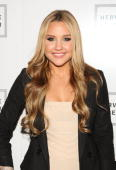Actress Amanda Bynes attends the Herve Leger Spring 2010 Fashion Show at the Promenade at Bryant Park on September 13 2009 in in New York City