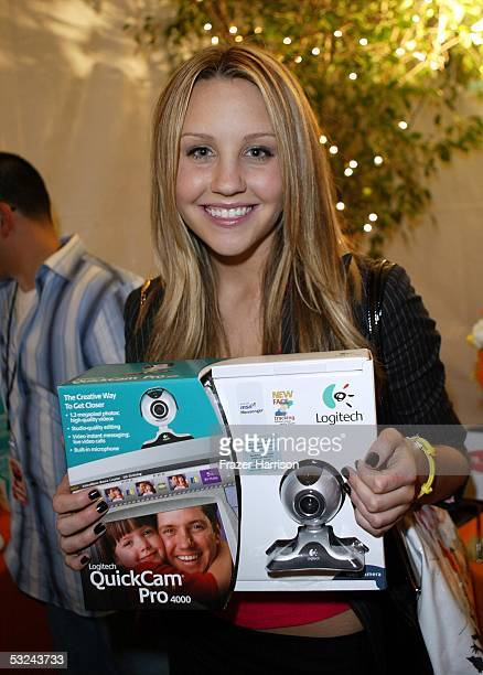 Actress Amanda Bynes is seen at the Distinctive Assets lounge for Nickelodeon's Kids' Choice Awards on April 3 2004 in Westwood California