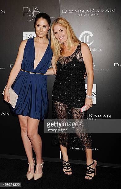 Actress Amanda Crew and fashion designer Mary Alice Haney attend the fifth annual PSLA Autumn Party benefiting Children's Institute Inc sponsored by...