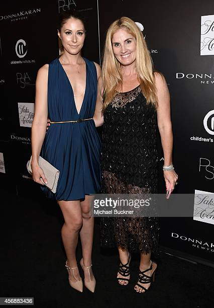 Actress Amanda Crew and stylist/designer Mary Alice Haney attend the fifth annual PSLA Autumn Party benefiting Children's Institute Inc sponsored by...