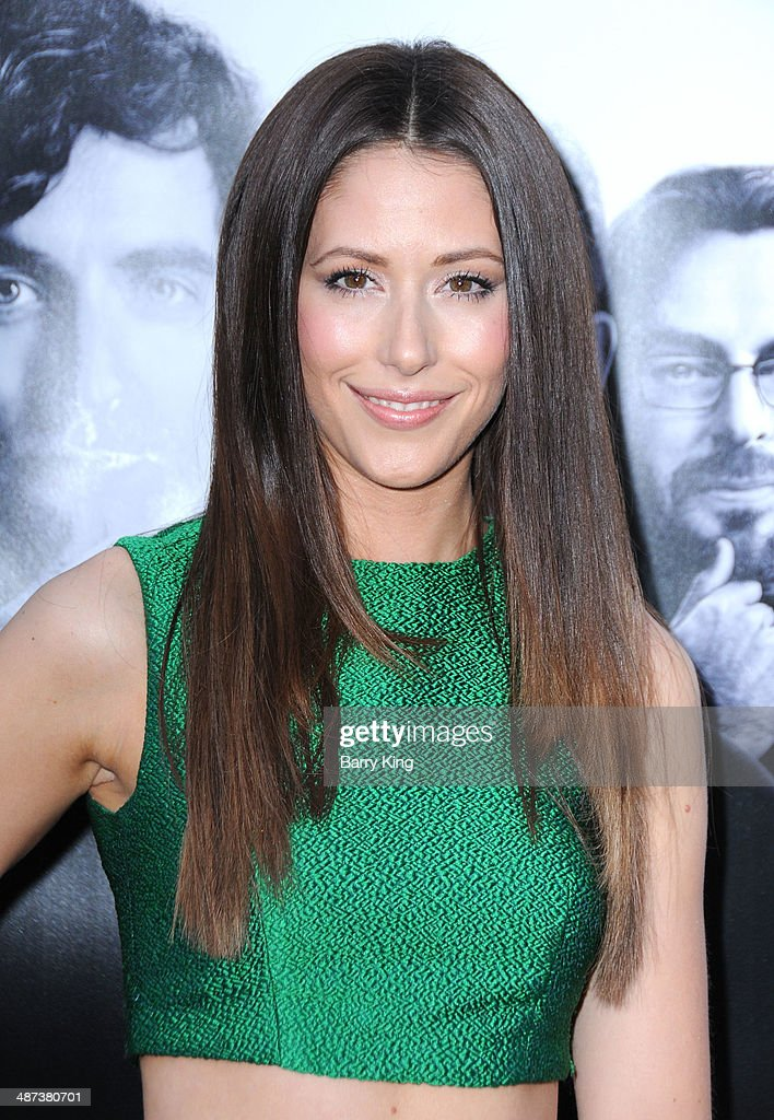 Actress Amanda Crew arrives at the premiere of 'Silicon Valley' on April 3, 2014 at Paramount Studios in Hollywood, California.