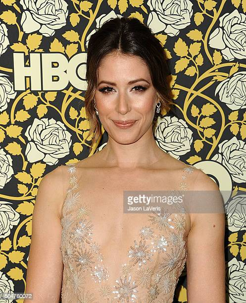 Actress Amanda Crew attends HBO's post 2016 Golden Globe Awards party at Circa 55 Restaurant on January 10 2016 in Los Angeles California