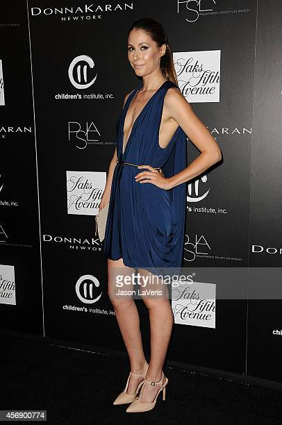 Actress Amanda Crew attends the 5th annual PSLA Autumn Party at 3LABS on October 8 2014 in Culver City California