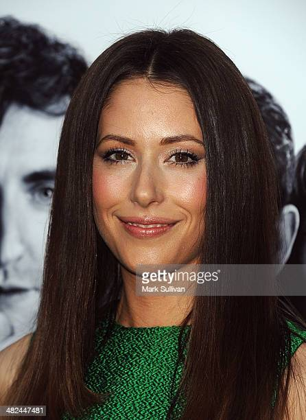 Actress Amanda Crew attends the premiere party for HBO's new series 'Silicon Valley' at Paramount Studios on April 3 2014 in Hollywood California