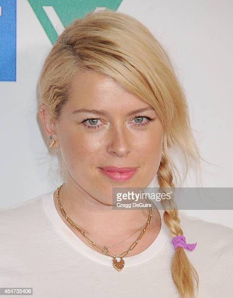 Actress Amanda de Cadenet attends the 4th Biennial Stand Up To Cancer A Program of The Entertainment Industry Foundation at Dolby Theatre on...
