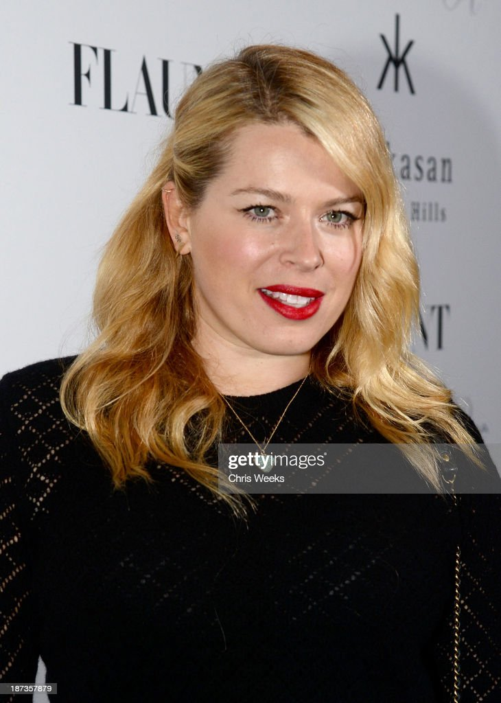 Actress Amanda de Cadenet attends the Flaunt Magazine November issue party at Hakkasan on November 7, 2013 in Beverly Hills, California.