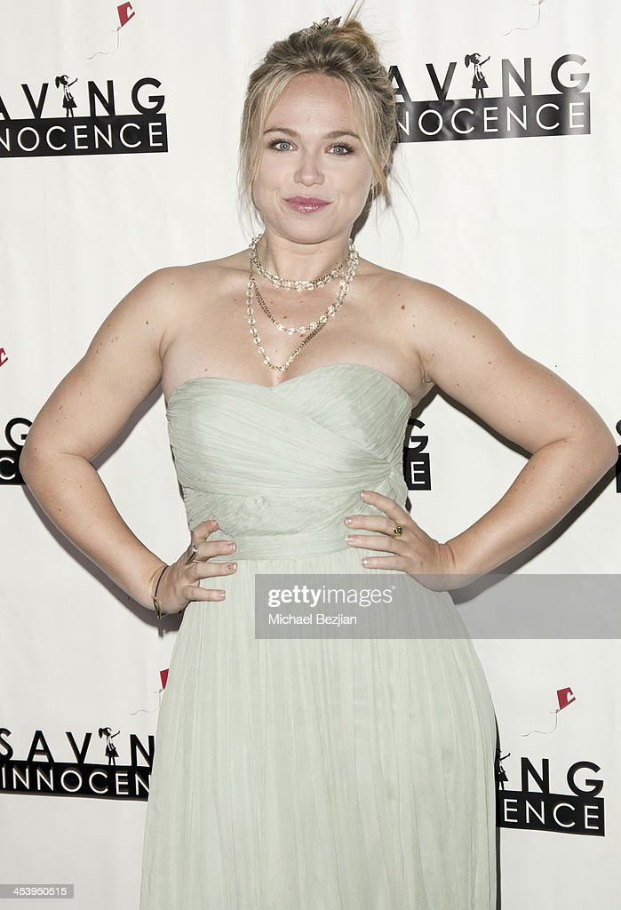 Actress <a gi-track='captionPersonalityLinkClicked' href=/galleries/search?phrase=Amanda+Fuller&family=editorial&specificpeople=4262163 ng-click='$event.stopPropagation()'>Amanda Fuller</a> arrives at the 2nd Annual Saving Innocence Gala Hosted By Kellan Lutz And Keke Palmer - Arrivals at The Crossing on December 5, 2013 in Los Angeles, California.