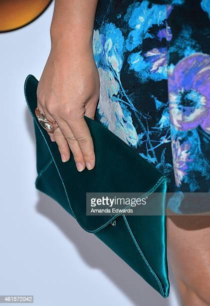 Actress Amanda Fuller arrives at the ABC TCA 'Winter Press Tour 2015' Red Carpet on January 14 2015 in Pasadena California
