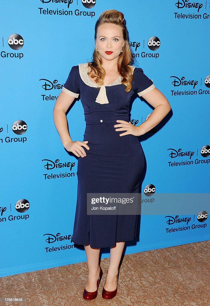 Actress Amanda Fuller arrives at the Disney/ABC Party 2013 Television Critics Association's Summer Press Tour at The Beverly Hilton Hotel on August 4, 2013 in Beverly Hills, California.