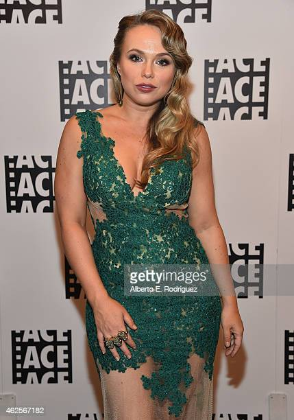 Actress Amanda Fuller attend the 65th Annual ACE Eddie Awards at The Beverly Hilton Hotel on January 30 2015 in Beverly Hills California