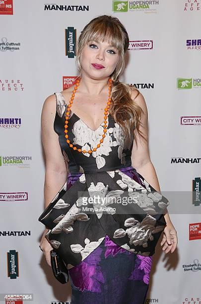 Actress Amanda Fuller attends 2014 Hope North Benefit Gala at City Winery on November 1 2014 in New York City
