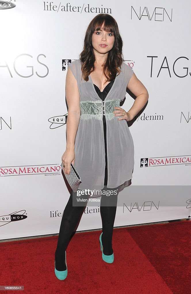 Actress Amanda Fuller attends TAGS Grand Opening Party on February 6, 2013 in West Hollywood, California.