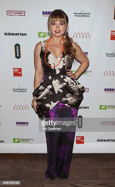 Actress Amanda Fuller attends the 2014 Hope North Benefit Gala at City Winery on November 1 2014 in New York City