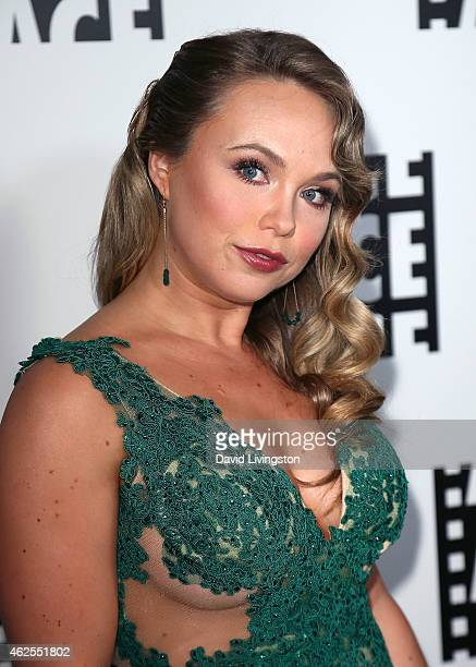 Actress Amanda Fuller attends the 65th Annual ACE Eddie Awards at The Beverly Hilton Hotel on January 30 2015 in Beverly Hills California