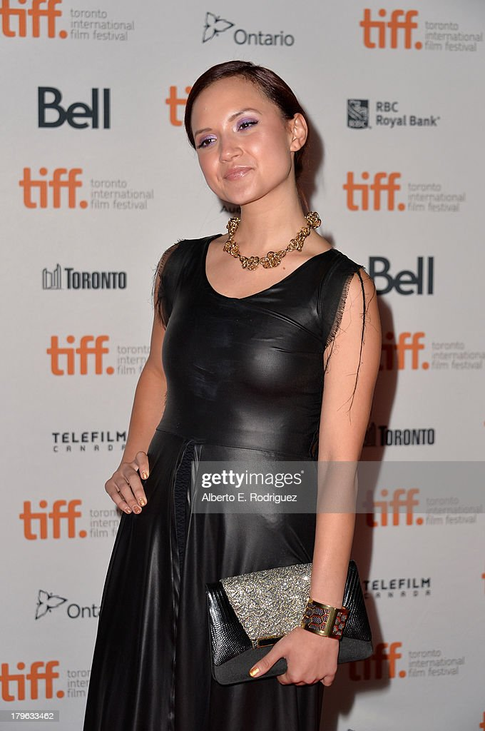 Actress Amanda Grace Cooper arrives at the 'All Cheerleaders Die' premiere during the 2013 Toronto International Film Festival at Ryerson Theatre on...