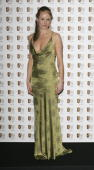 Actress Amanda Holden poses in the Awards Room at the Pioneer British Academy Television Awards 2006 at the Grosvenor House Hotel on May 7 2006 in...
