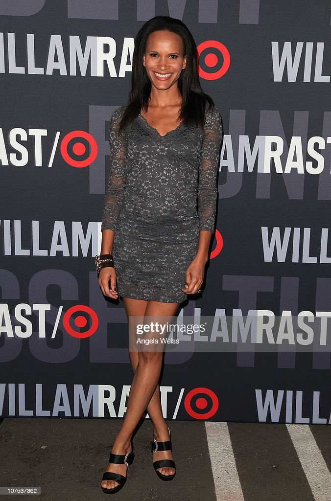 Actress Amanda Luttrell Garrigus arrives at the launch of Target's & William Rast's Limited Edition Collection shopping event at Factory Place on December 11, 2010 in Los Angeles, California.