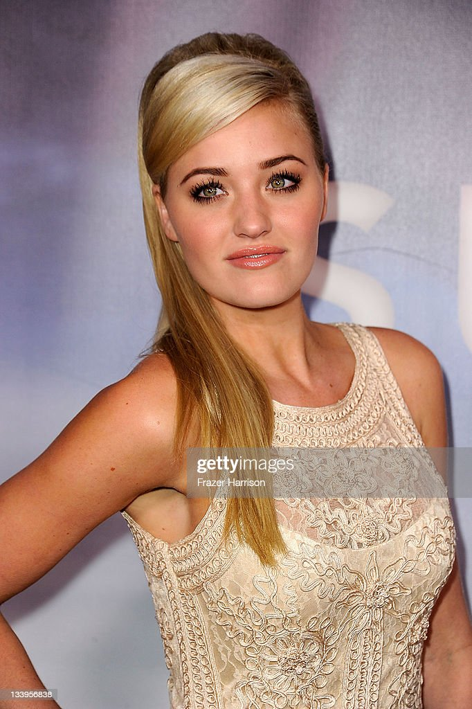 Actress Amanda Michalka arrives at Paramount Pictures' 'Super 8' Blu-ray and DVD release party at AMPAS Samuel Goldwyn Theater on November 22, 2011 in Beverly Hills, California.