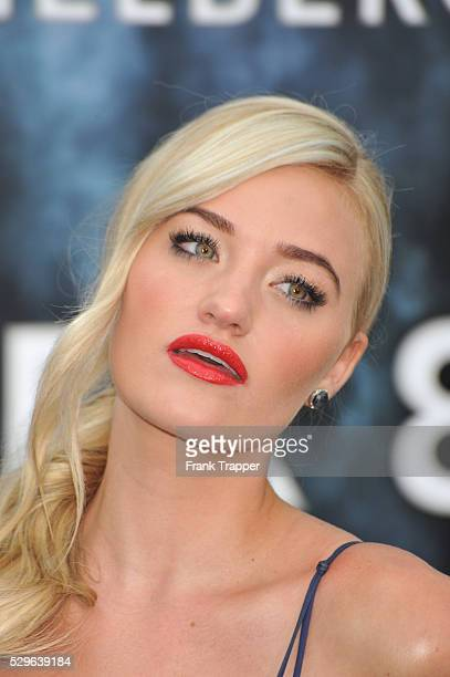 Actress Amanda Michalka arrives at the Premiere of Paramount Pictures' 'Super 8' held at the Regency Village Theater in Westwood